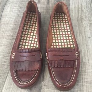 Sperry leather Avery boat loafers shoes. Size 9M